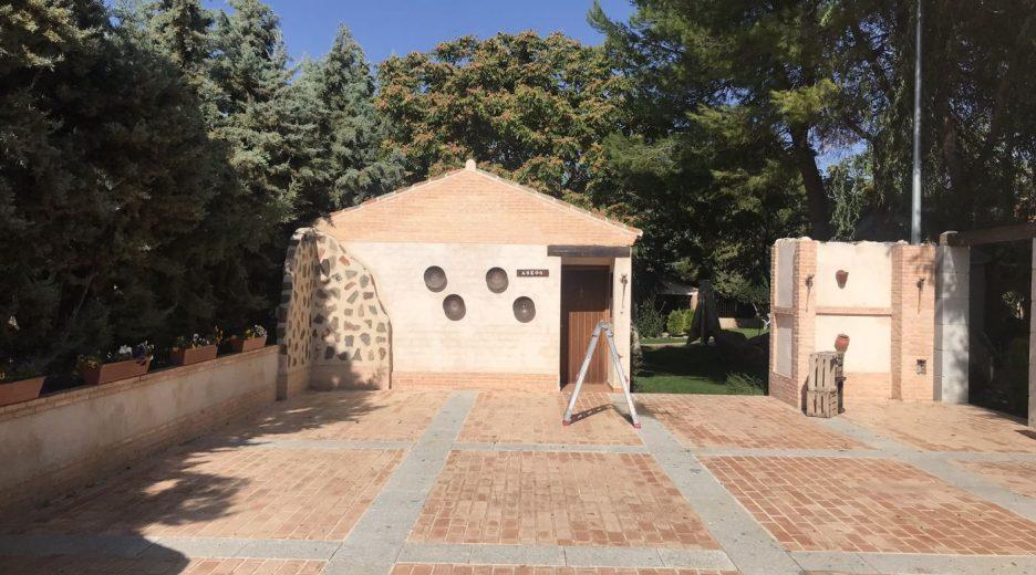 Carpa presurizada  con cubierta plana Finca Los Truecos – Toledo