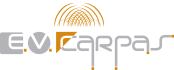 LOGOTIPO EV CARPAS vectorizado